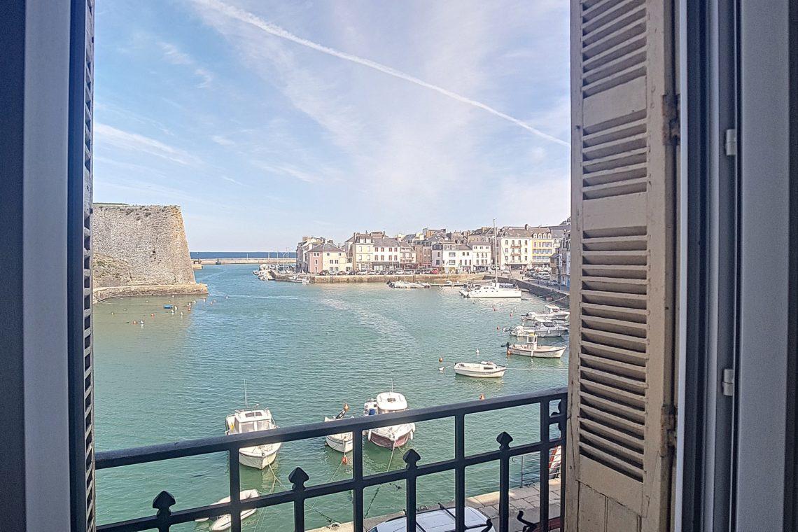 appartement 0438 vue port Le Palais