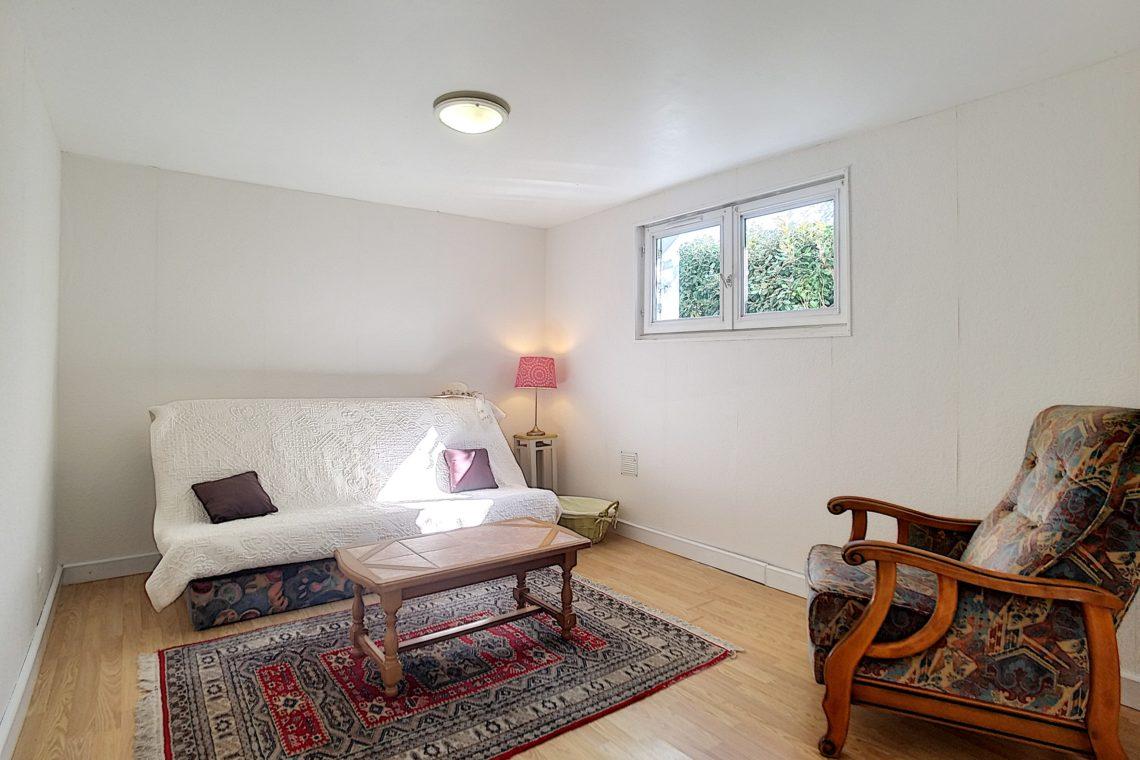 appartement en sous-sol de la maison à vendre réf 537 à Étel